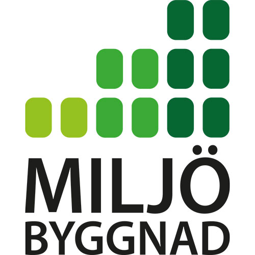 Miljöbyggnad Logo